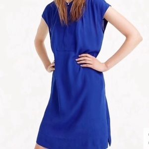 J. Crew Easy Tunic Dress – NWT Medium Cobalt Blue